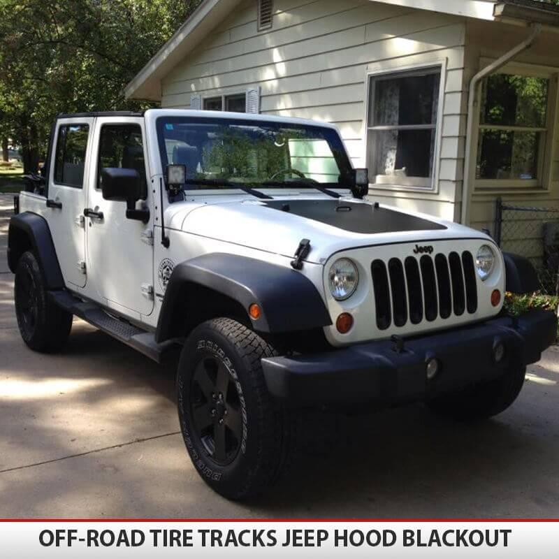 Jeep Wrangler Jk Blackout Hood
